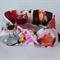 "Baby headband, Owls, Pink, Grey, Yellow, baby girl headband, ""Wisdom"", baby knot"