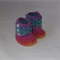 Crochet Crocodile Stitch Booties Newborn