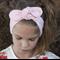 """Baby Turban Headband, pastel pink, """"Ashley"""", baby knot headband, baby headband"""
