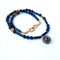 Nepalese Lapis Lazuli and Gold Necklace