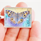 Australian Butterfly, postage stamp pendant
