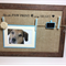 Pet Memorial peg frame. Photo & Tag display for pet loss.
