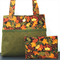 Autumn bag with matching purse/pouch