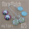 Mix'n'match - Choose 3 pairs of earrings for $25