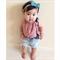 Pink Leopard Crop Top - baby, girl, black, Luxe, birthday, Summer, dress