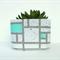 Concrete Succulent Planter - X-Large - Geo Mint - Urban Decor
