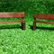 Fairy or Dolls House Bench Seats x2