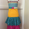 APRON - Beautiful quality Colourful layers. Ideal Mother's Day gift.