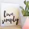 Live Simply Watercolour Wall Art Shelfie