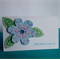 "Floral ""Just Saying Hello"" Card"