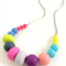 MIX Bead Teething Necklace