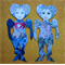 Paper Gals Fantasy Paper Doll set of 2 Waterwise Australia and Fairy Tale Doll
