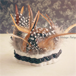 Feather head dress  feather crown