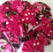 24 x Ast  floral print fabric yoyos for singlets / accessories
