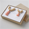 Mother and Daughter Matching Necklaces jewellery set in Peach Pink - Mothers Day
