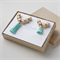 Mother and Daughter Matching Necklaces jewellery set in Teal and Mint