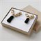 Mother and Daughter Matching Necklaces jewellery set in Black - Mothers Day