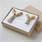 Mother and Daughter Matching Necklaces jewellery set in Grey