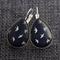 Swallows ~Teardrop Lever Back Earrings