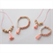 Mother and Daughter Matching Necklaces and Bracelets jewellery set
