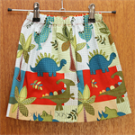 Dinosaur Easy Fit Shorts. Size 2