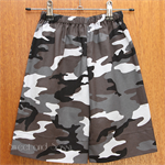 Camo Easy fit shorts. Size 5