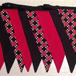 Car Racing Bunting Flags