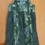 Leaf and Grape Knot Dress. Size 5