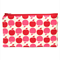 Red Apple Zip Pouch / Zippered Case / Zipper Bag / Purse