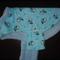 Super fluffy coral fleece and flannelette dog coats - Large