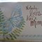 Mother's Day Big Butterfly Handmade Card
