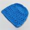 crochet baby beanie | bright blue | baby shower gift | newborn - 6+ months