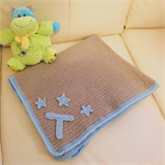 Customisable Crochet Baby Blanket