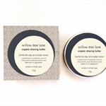 Organic Shaving Butter/Shaving Cream with Bentonite Clay and Cedar