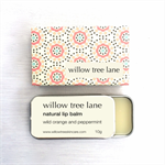 Wild Orange and Peppermint Natural Lip Balm