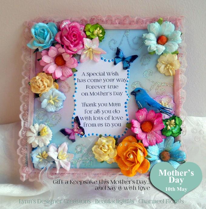 Handmade Wooden Decorative Keepsake Plaque for Mother s Day. Handmade Wooden Decorative Keepsake Plaque for Mother s Day