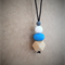 """The """"Oakley"""" Simple Teething Necklace  (Bpa Free)"""