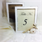 Table number frames, Wedding table numbers, Beach themed frames, Bridal table
