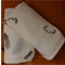 Antlers Hand Stamped Organic Muslin Baby Blanket | Baby Wrap | Swaddles