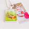 Lucky Fish vintage postage stamp necklace