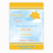Sunshine Party Invitation for boy or girl, printable pdf and jpeg file