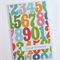 Colourful Numbers - Birthday Card