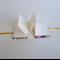 Micro Mini Purple/Gold Japanese Paper Handmade Accordion Fold Journal Notebook
