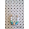DribbleGems Mint Silicone & Natural Unfinished Wood Mum Teething Necklace