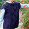 Hand-Knitted-Wool-Aran-Boy-Vest-size-4-to-5-years