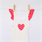 Kids Bonds Singlet - retro red polka dot applique & frills - sizes 4 - 8 girls