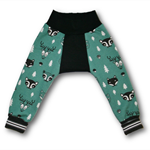 Woods Teal Green Big Bum Trackpants (000-0)