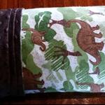 Large flannelette / minky baby blanket - Dinosaurs!