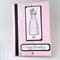 Birthday Card - Vintage Dress, hand coloured