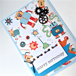 Birthday Card, Kids - Boyish 
